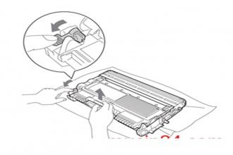 Các bước cách lắp đặt hộp mực máy in Brother, Fuji Xerox